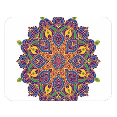 Ornate Mandala Double Sided Flano Blanket (large)  by Valentinaart
