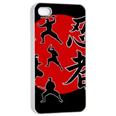 Ninja Apple Iphone 4/4s Seamless Case (white)
