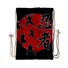 Ninja Drawstring Bag (small) by Valentinaart