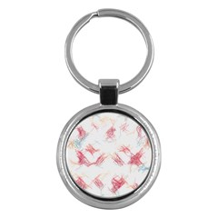 Doodles                      Key Chain (round) by LalyLauraFLM