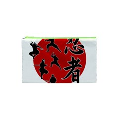 Ninja Cosmetic Bag (xs) by Valentinaart