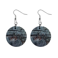Concrete Wall                        1  Button Earrings by LalyLauraFLM
