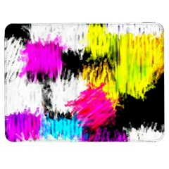 Colorful Blurry Paint Strokes                   Htc One M7 Hardshell Case by LalyLauraFLM