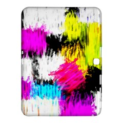 Colorful Blurry Paint Strokes                   Samsung Galaxy Tab 4 (8 ) Hardshell Case by LalyLauraFLM