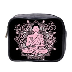 Ornate Buddha Mini Toiletries Bag 2 Side