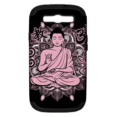 Ornate Buddha Samsung Galaxy S Iii Hardshell Case (pc+silicone) by Valentinaart