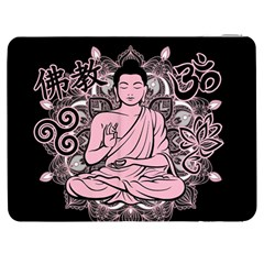 Ornate Buddha Samsung Galaxy Tab 7  P1000 Flip Case by Valentinaart