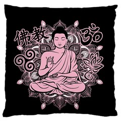 Ornate Buddha Standard Flano Cushion Case (two Sides) by Valentinaart