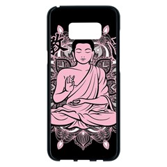 Ornate Buddha Samsung Galaxy S8 Plus Black Seamless Case by Valentinaart