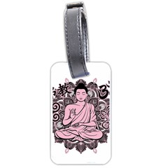 Ornate Buddha Luggage Tags (one Side)