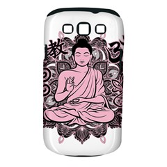 Ornate Buddha Samsung Galaxy S Iii Classic Hardshell Case (pc+silicone) by Valentinaart