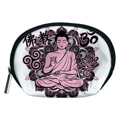 Ornate Buddha Accessory Pouches (medium)  by Valentinaart