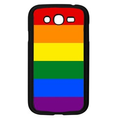 Pride Rainbow Flag Samsung Galaxy Grand Duos I9082 Case (black) by Valentinaart