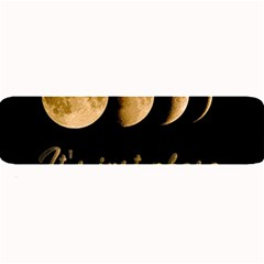 Moon Phases  Large Bar Mats by Valentinaart