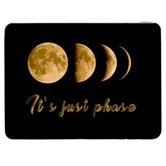 Moon Phases  Samsung Galaxy Tab 7  P1000 Flip Case by Valentinaart