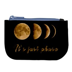 Moon Phases  Large Coin Purse