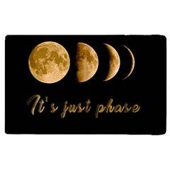 Moon Phases  Apple Ipad Pro 9 7   Flip Case by Valentinaart