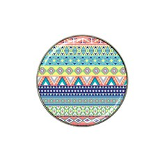 Tribal Print Hat Clip Ball Marker by BangZart