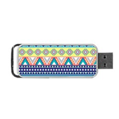 Tribal Print Portable Usb Flash (one Side) by BangZart