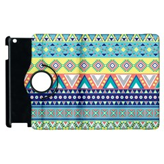 Tribal Print Apple Ipad 2 Flip 360 Case by BangZart