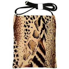Animal Fabric Patterns Shoulder Sling Bags by BangZart