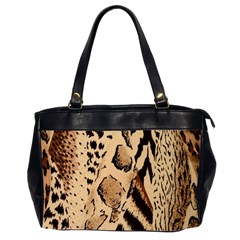 Animal Fabric Patterns Office Handbags (2 Sides)  by BangZart