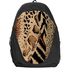 Animal Fabric Patterns Backpack Bag by BangZart