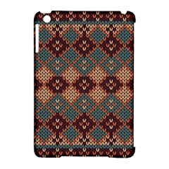 Knitted Pattern Apple Ipad Mini Hardshell Case (compatible With Smart Cover)