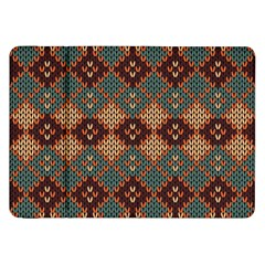 Knitted Pattern Samsung Galaxy Tab 8 9  P7300 Flip Case by BangZart