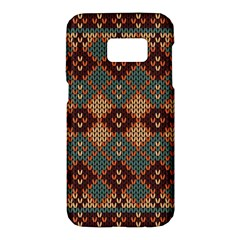 Knitted Pattern Samsung Galaxy S7 Hardshell Case