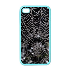 Spider Web Wallpaper 14 Apple Iphone 4 Case (color) by BangZart