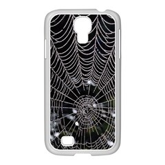 Spider Web Wallpaper 14 Samsung Galaxy S4 I9500/ I9505 Case (white) by BangZart