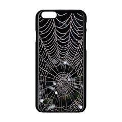 Spider Web Wallpaper 14 Apple Iphone 6/6s Black Enamel Case by BangZart