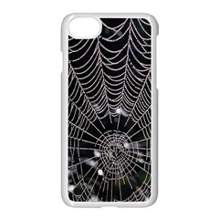 Spider Web Wallpaper 14 Apple Iphone 7 Seamless Case (white) by BangZart