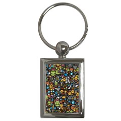 Many Funny Animals Key Chains (rectangle)  by BangZart