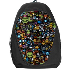 Many Funny Animals Backpack Bag by BangZart