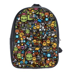 Many Funny Animals School Bags (xl)  by BangZart