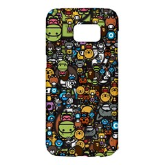 Many Funny Animals Samsung Galaxy S7 Edge Hardshell Case