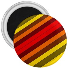 Abstract Bright Stripes 3  Magnets by BangZart
