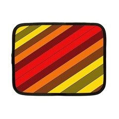 Abstract Bright Stripes Netbook Case (small)  by BangZart