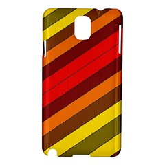Abstract Bright Stripes Samsung Galaxy Note 3 N9005 Hardshell Case by BangZart