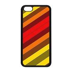Abstract Bright Stripes Apple Iphone 5c Seamless Case (black)