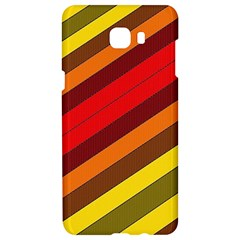Abstract Bright Stripes Samsung C9 Pro Hardshell Case