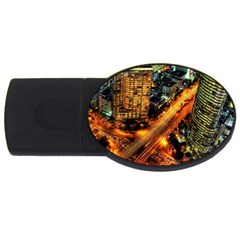 Hdri City Usb Flash Drive Oval (2 Gb) by BangZart
