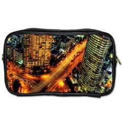 Hdri City Toiletries Bags by BangZart