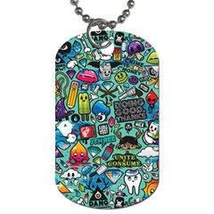 Comics Dog Tag (one Side) by BangZart