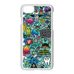 Comics Apple Iphone 7 Seamless Case (white) by BangZart