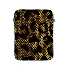 Metallic Snake Skin Pattern Apple Ipad 2/3/4 Protective Soft Cases by BangZart