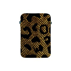 Metallic Snake Skin Pattern Apple Ipad Mini Protective Soft Cases by BangZart