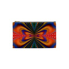 Casanova Abstract Art Colors Cool Druffix Flower Freaky Trippy Cosmetic Bag (small)  by BangZart